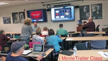 iMovie Trailer Class at Mac Club 1-10-18