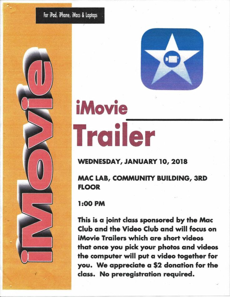 iMovie Trailers Class 1-10-18-sm