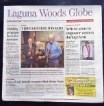 VC on page 1 of Globe-edited