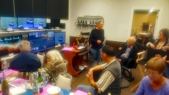 Tom at VidOne Mtg in Control Rm 1-18-19