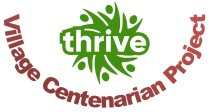 Thrive centenarian logo only