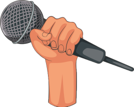 hand-holding-microphone-icon-cartoon-style-vector-13259360