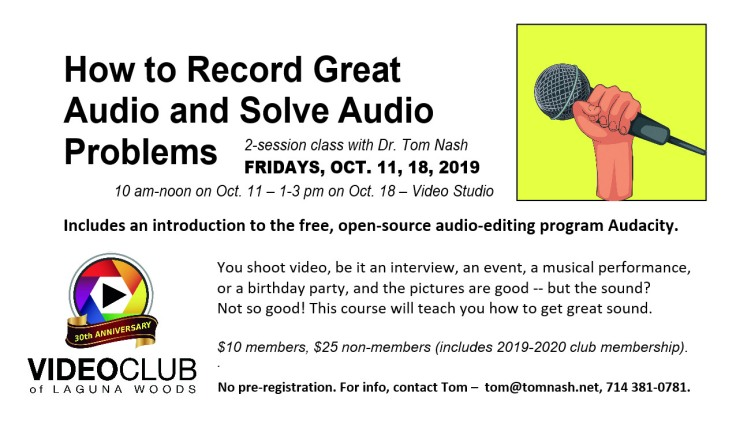 Record Great Audio 10-11-19 MsgBd-Rev