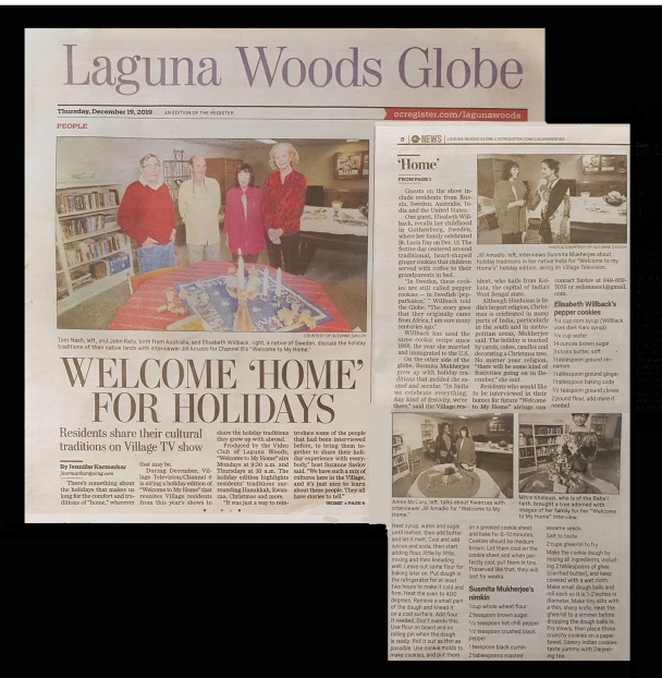 Globe 1st pg Welcome to My Home 12-19-19